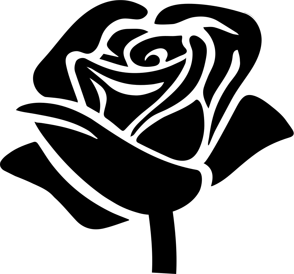 Download Rose Shape Svg Png Icon Free Download (#40099 ...
