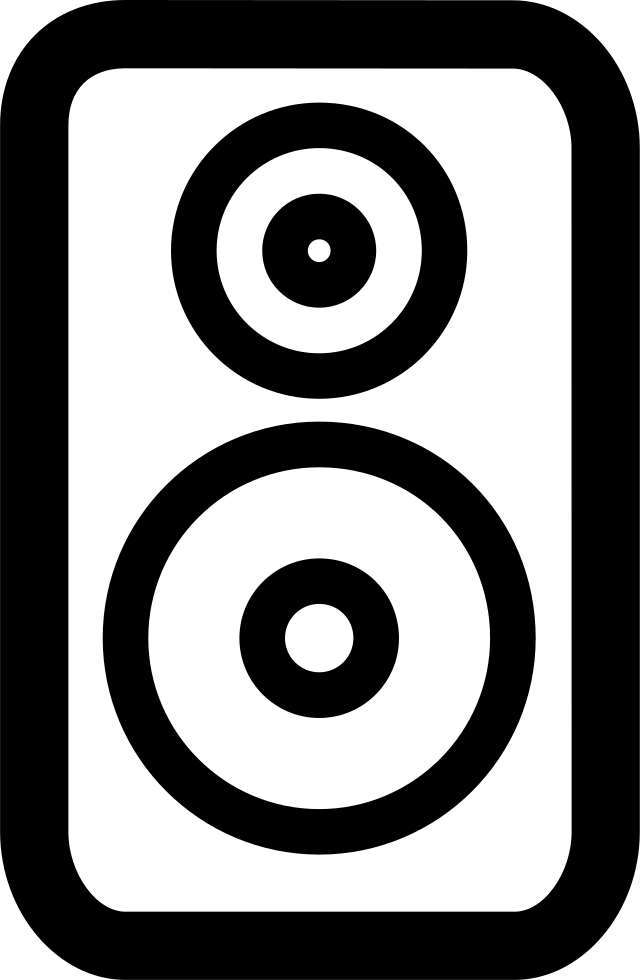 Speaker Vector SVG Icon - PNG Repo Free PNG Icons