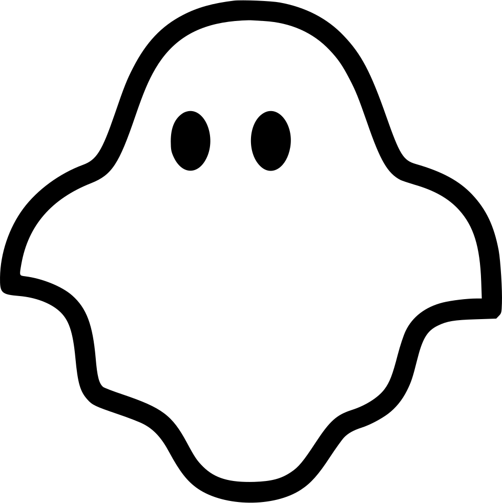 Ghost Svg Png Icon Free Download (#431653