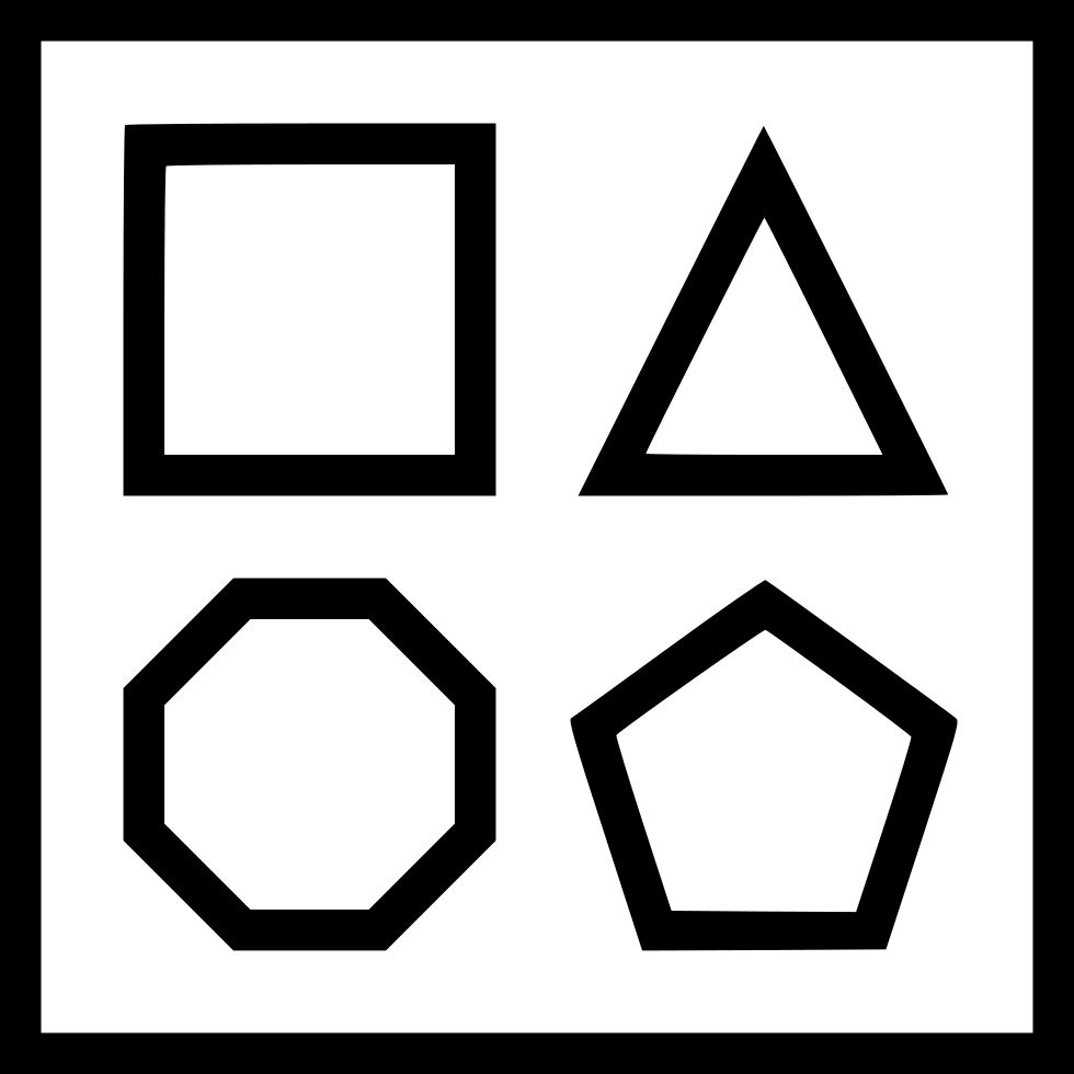 Shape Square Triangle Hexagon Pentagon Editor Svg Png Icon Free Download (#434900) - OnlineWebFonts.COM