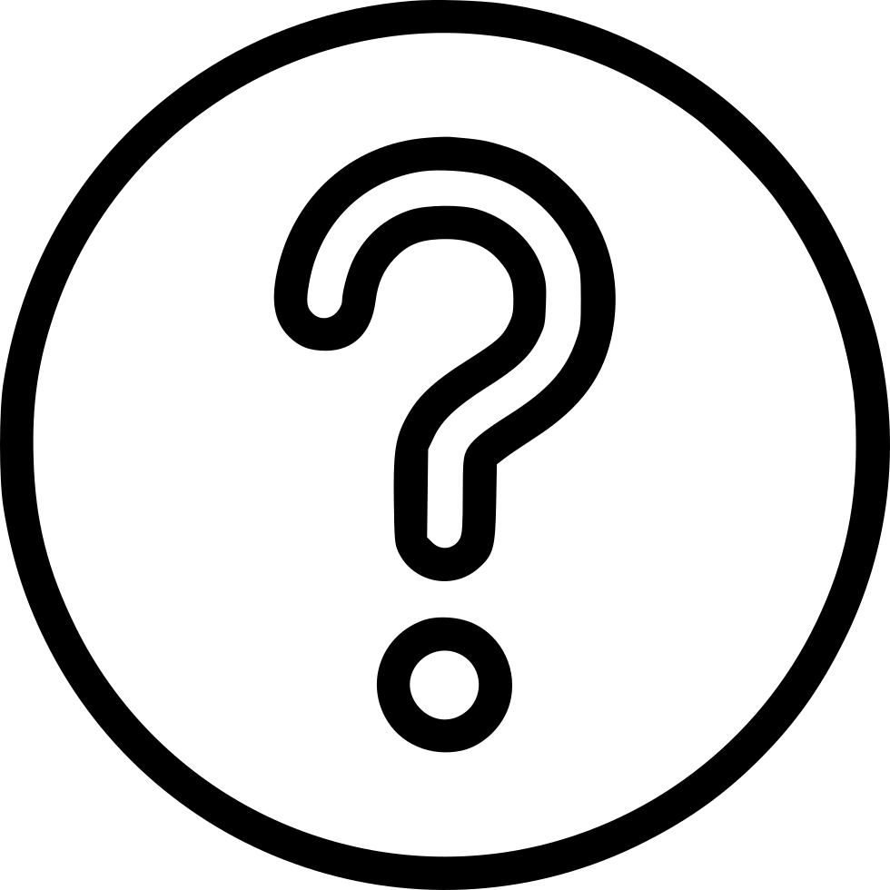 Question Ask Help Support Circle Button Svg Png Icon Free