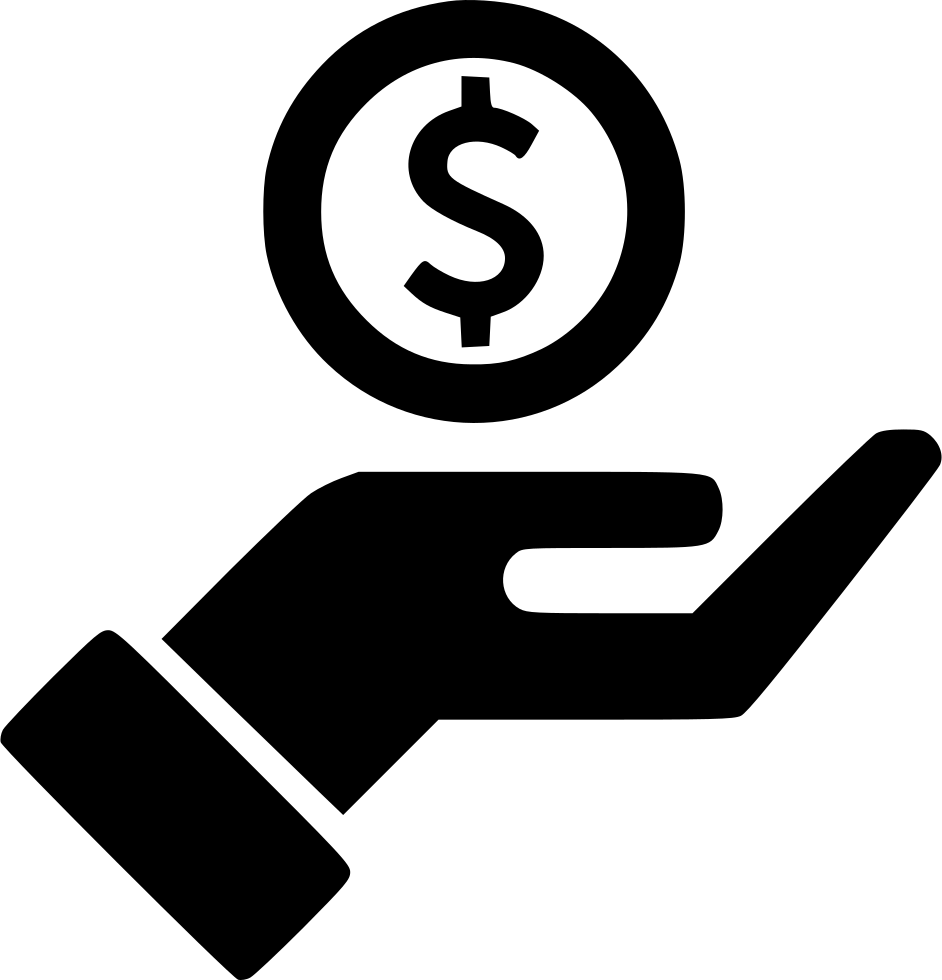 Hand Streched Dollar Outline Svg Png Icon Free Download