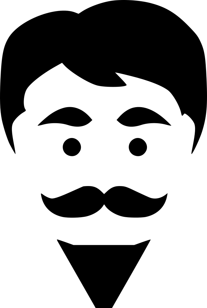 Hipster Beard Man Hair Style Fashion Svg Png Icon Free