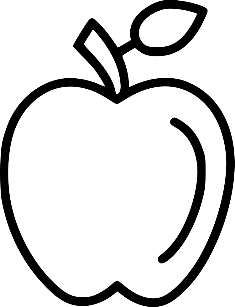 Apple Svg Png Icon Free Download (#473022
