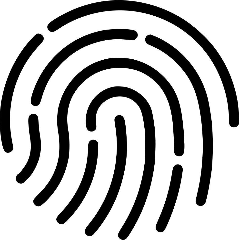 Touch Id Fingerprint Access Svg Png Icon Free Download