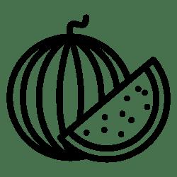 watermelon svg icon slice food plant tree file onlinewebfonts