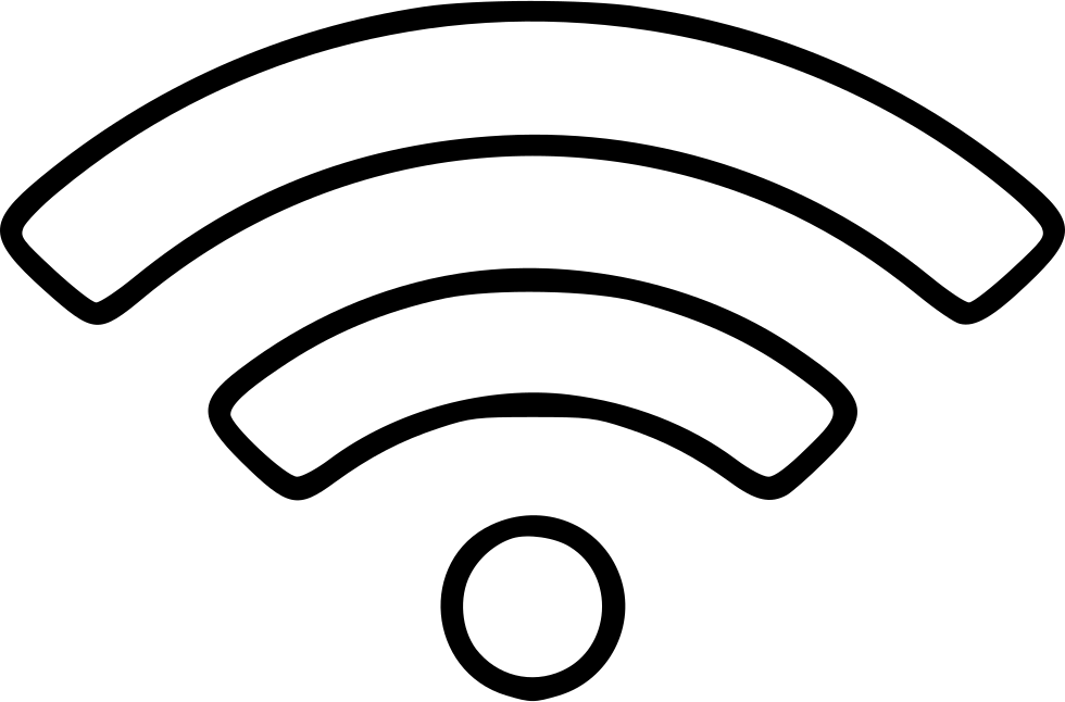 Wifi Connection Connect Wave Signal Network Hotspot Svg