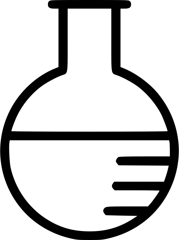 Flask Chemistry Laboratory Experiment Test Tube Svg Png