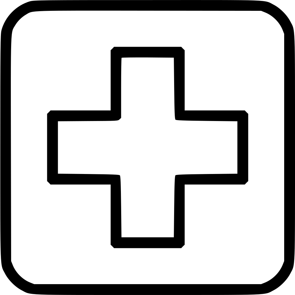 Medicine Cross Hospital Clinic Healthcare Svg Png Icon