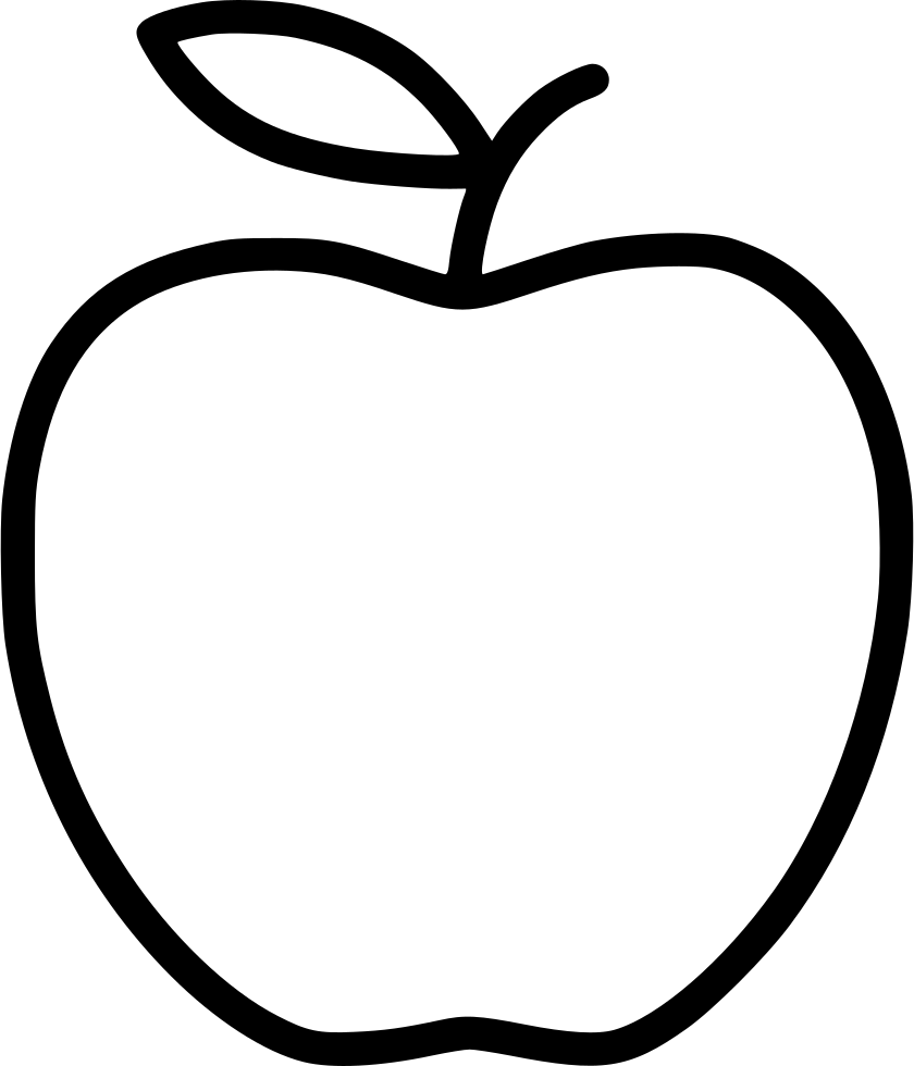 Apple Svg Png Icon Free Download (#499054