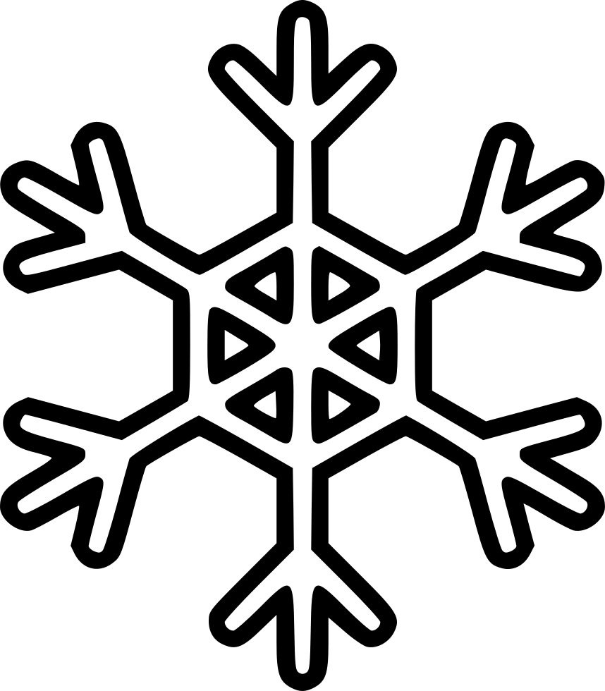 Snowflake Svg Png Icon Free Download (#499122
