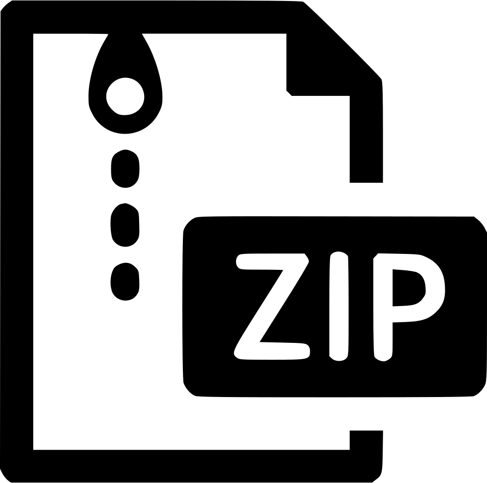 Download File Zip Archive Svg Png Icon Free Download (#518799 ...