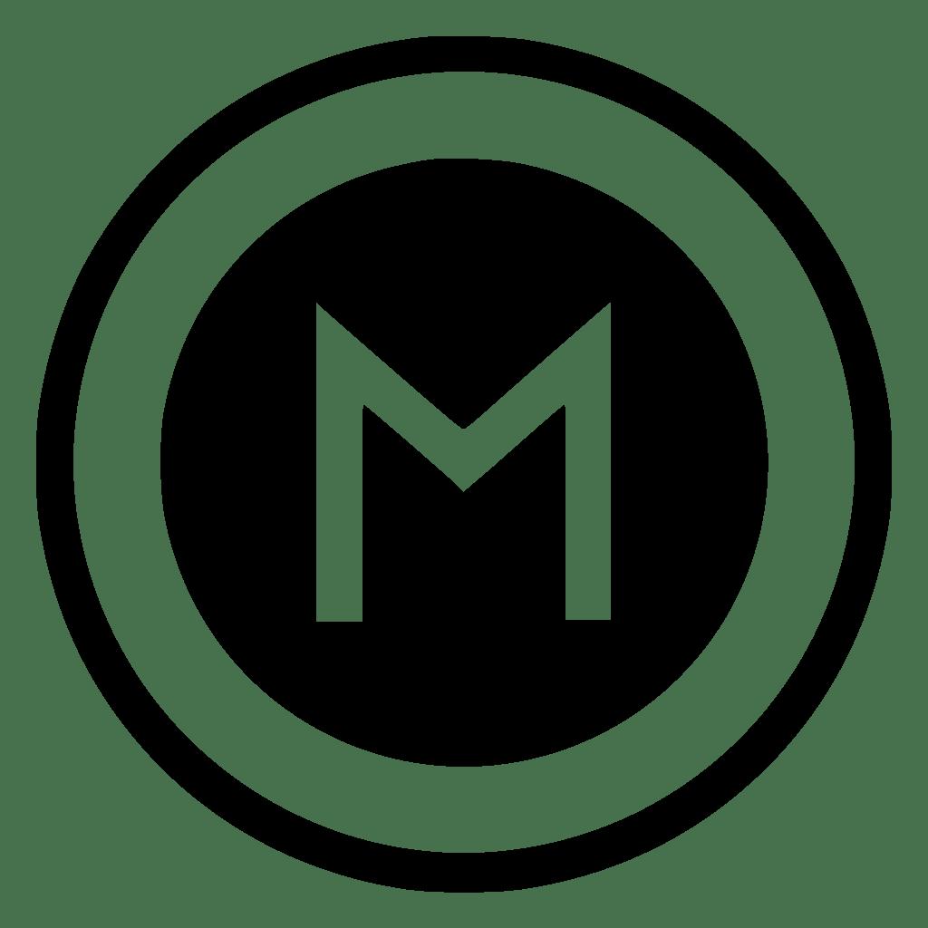 M Metro Metropolitan Pointer Round Sign Svg Png Icon Free Download (#525020) - OnlineWebFonts.COM