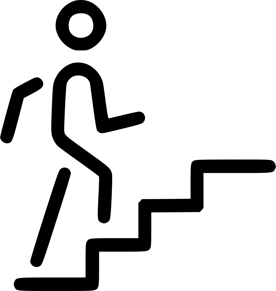 Steps Upstairs Svg Png Icon Free Download (#528958