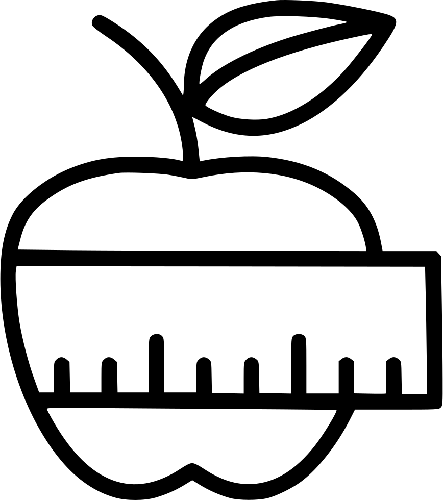 Apple Measuring Tape Svg Png Icon Free Download (#531461