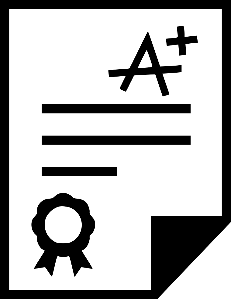 Exam Result Svg Png Icon Free Download (#533345