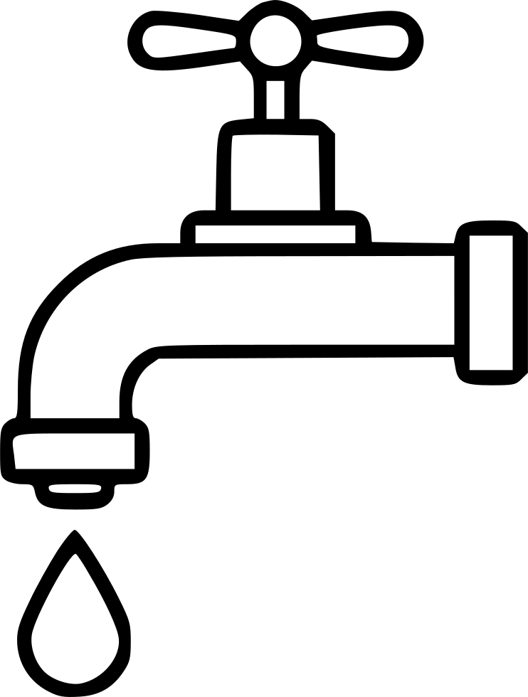 Dripping Tap Drop Water Economy Watertap Bath Svg Png Icon