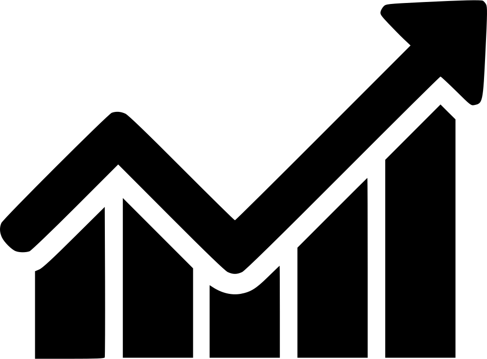 Arrow Increase Profit Chart Graph Analytics Svg Png Icon
