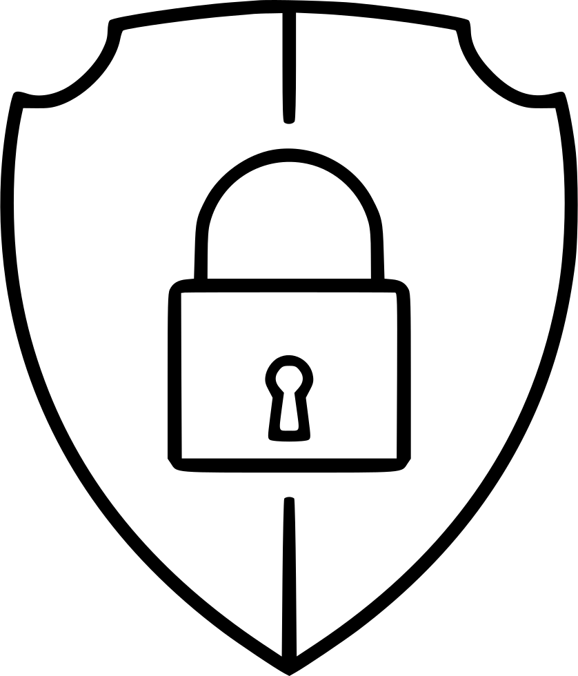 Security Shield Lock Protection Secure Svg Png Icon Free