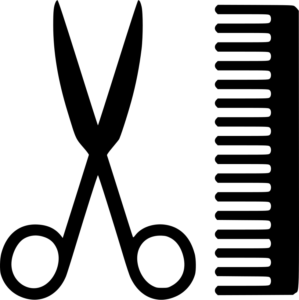 Scissors Comb Svg Png Icon Free Download 554144