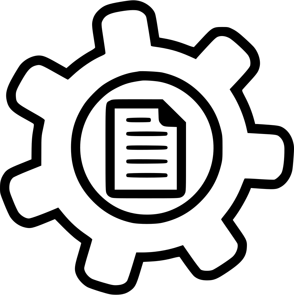Cms Content Management System Programming File Gear Svg
