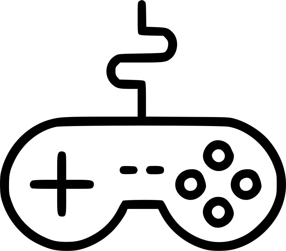 Wire Remote Controller Gamepad Device Joypad Svg Png Icon
