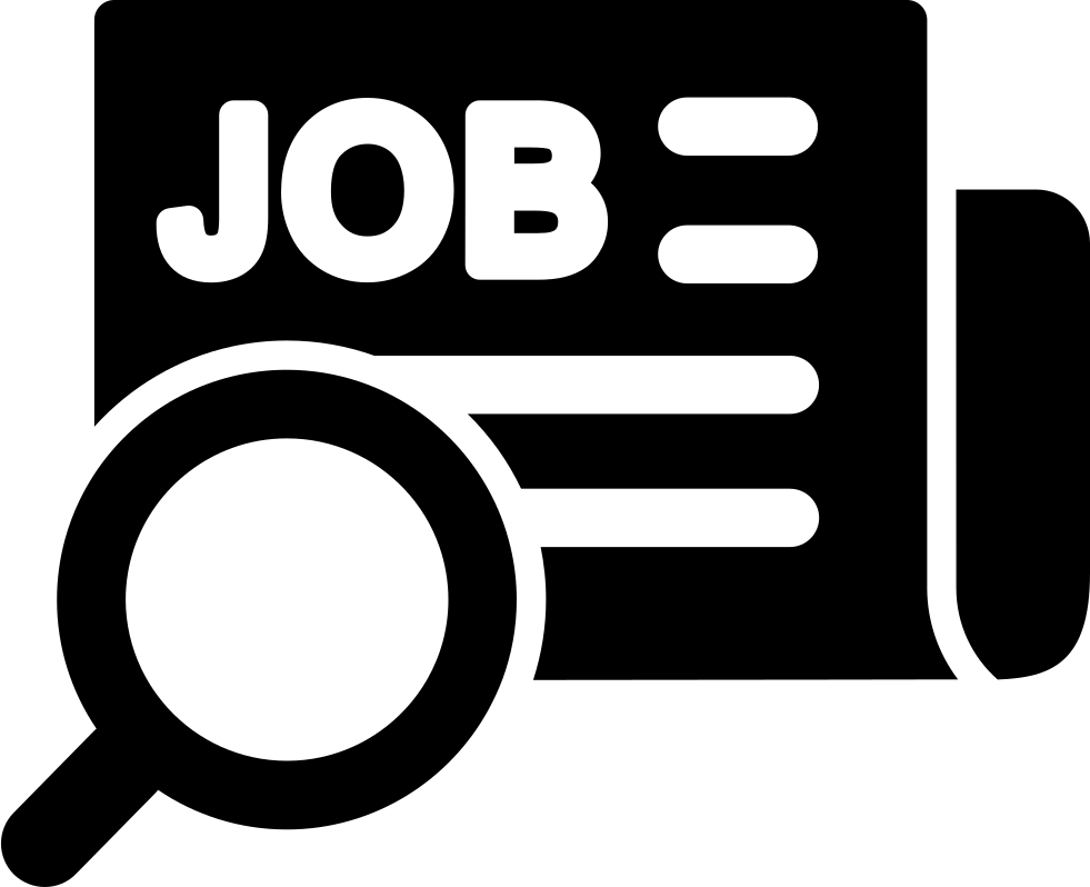 Job Search In Newspapers Svg Png Icon Free Download