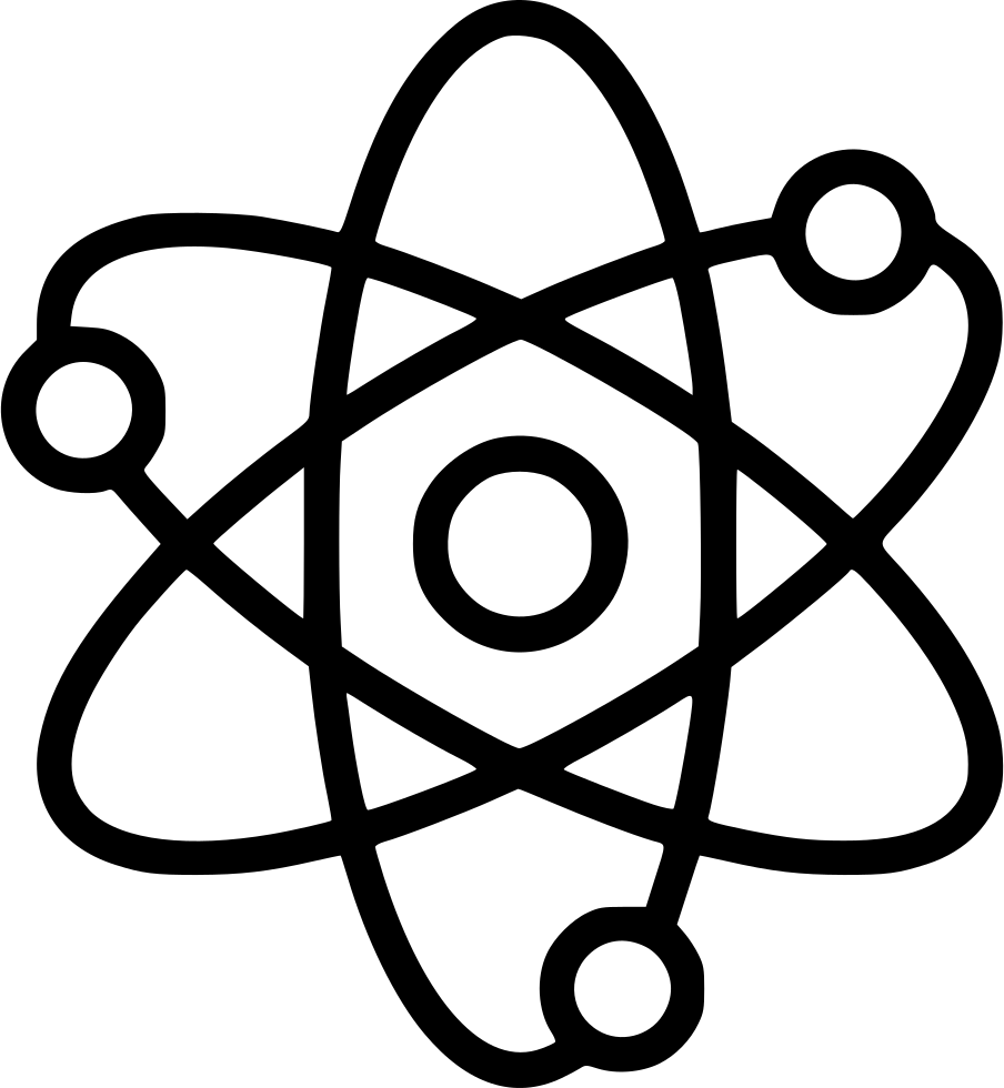 Nuclear Atom Corpuscle Energy Physics Science Svg Png Icon