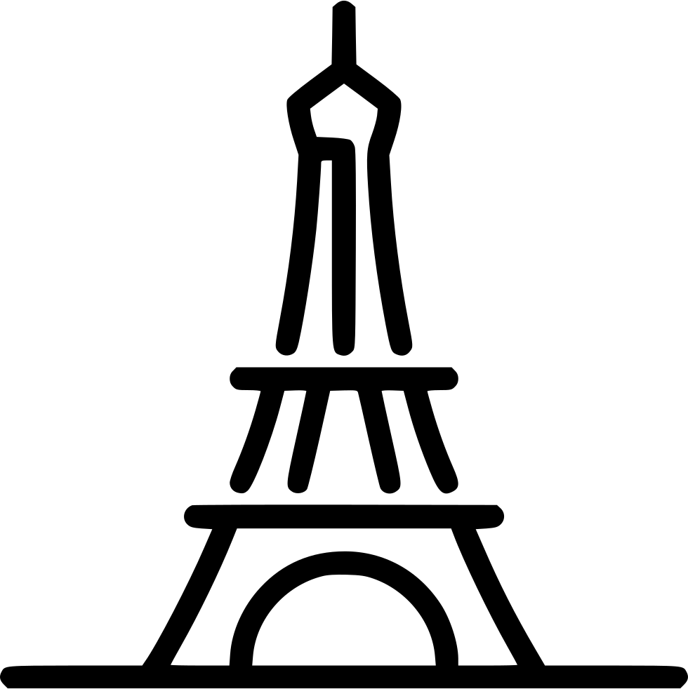 Eiffel Tower Svg Png Icon Free Download 574278  OnlineWebFontsCOM