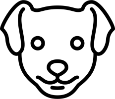 Dog Head Svg Png Icon Free Download 73531 ...