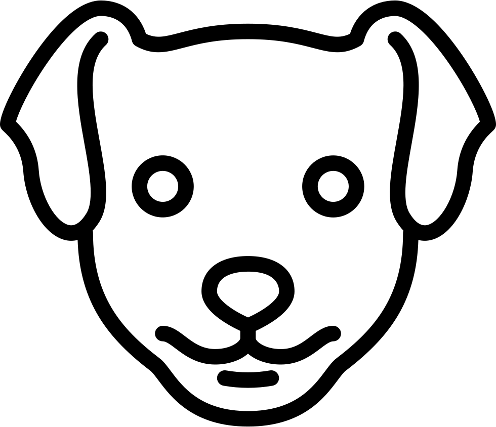 Dog Head Svg Png Icon Free Download (#73531
