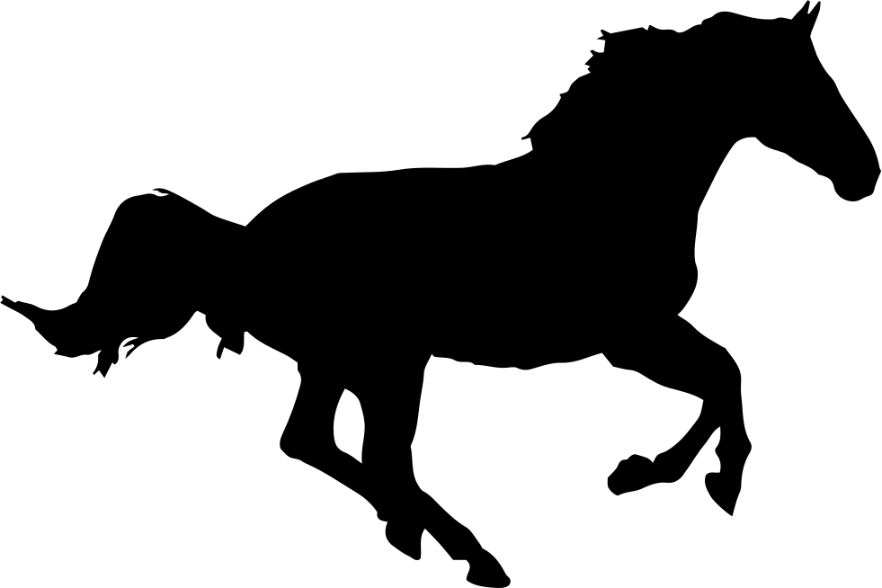 Download Horse Running Silhouette Svg Png Icon Free Download ...