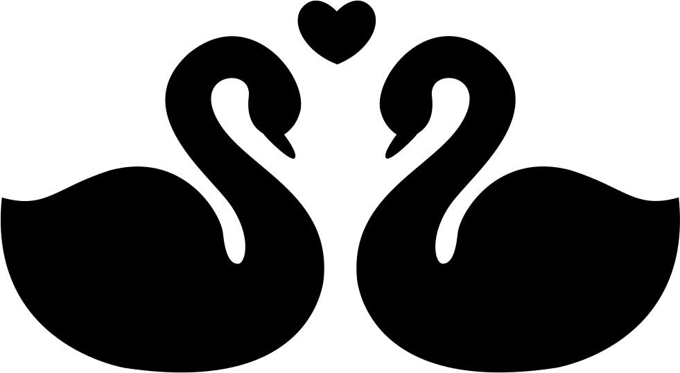 Download Swans Couple Fidelity Symbol Of Love Svg Png Icon Free ...