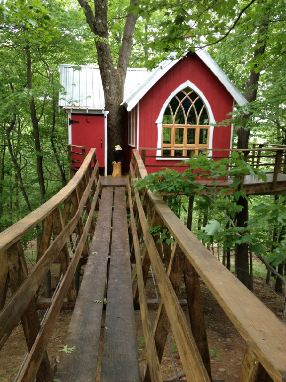 These Awesome Mohican Treehouses Are Located In Ohio