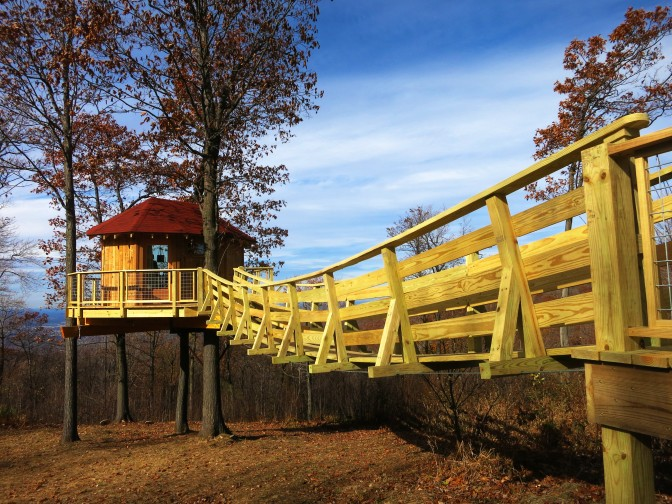 10 Amazing Treehouses In Pennsylvania
