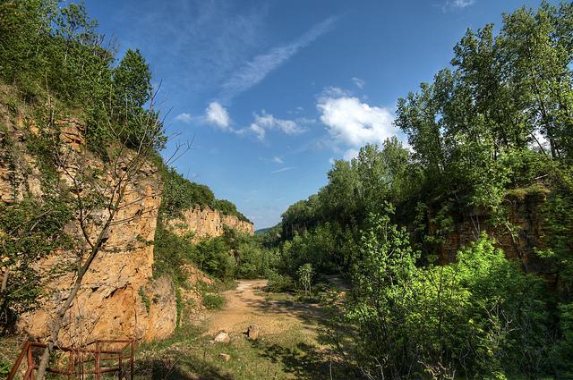 Iowa Hill Road Bridge Placer County California Easy Cur Hiking Trails