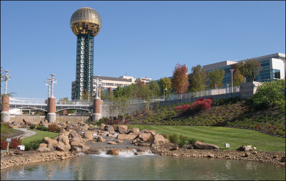 1) World's Fair Park - Knoxville