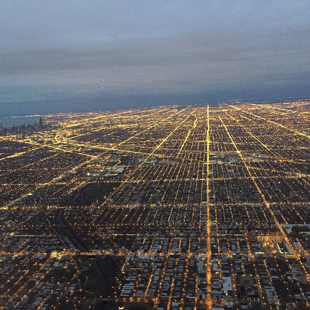 2. Chicago grid