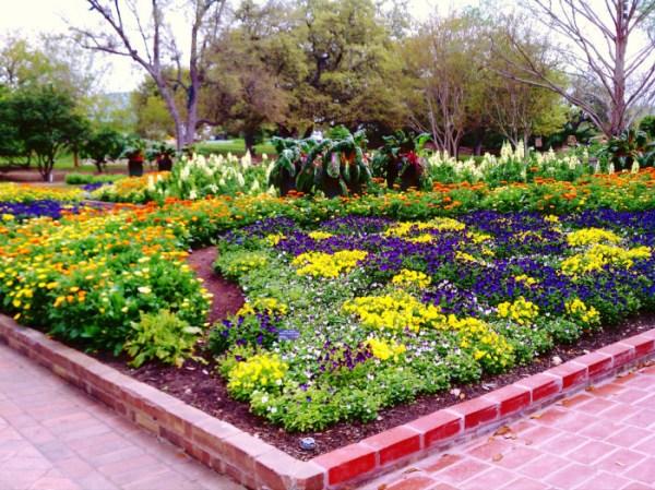 of beautiful gardens