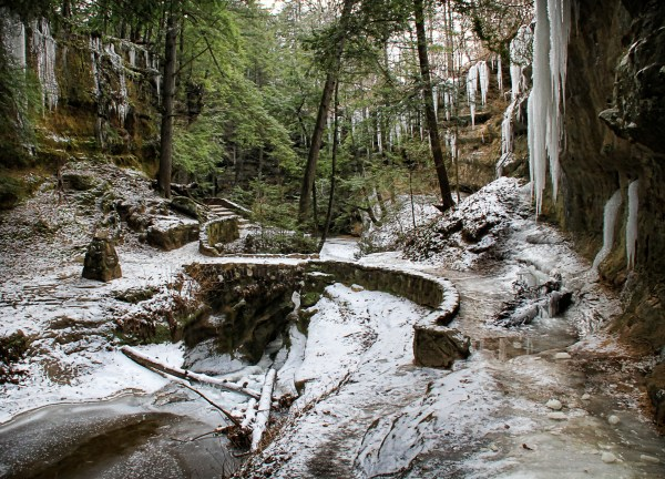 Spots In Ohio Jaw-dropping Winter