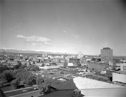 What Colorados Major Cities Looked Like In The 1950s