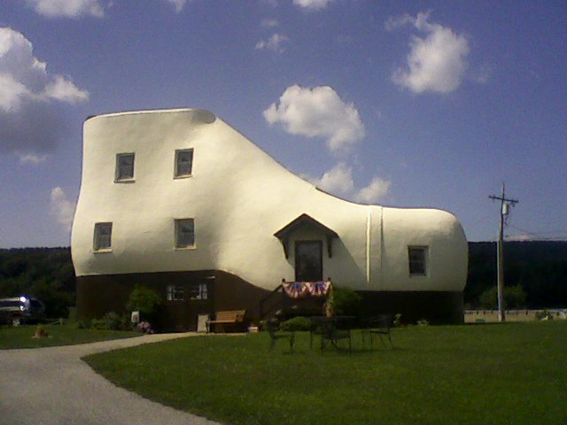 The Shoe House In Hellam Pennsylvania Is Like None Other