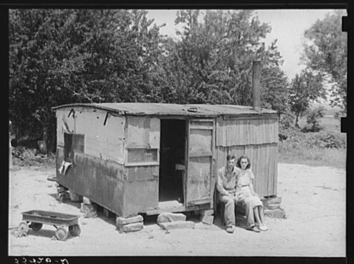 16 Houses In Oklahoma During The Great Depression