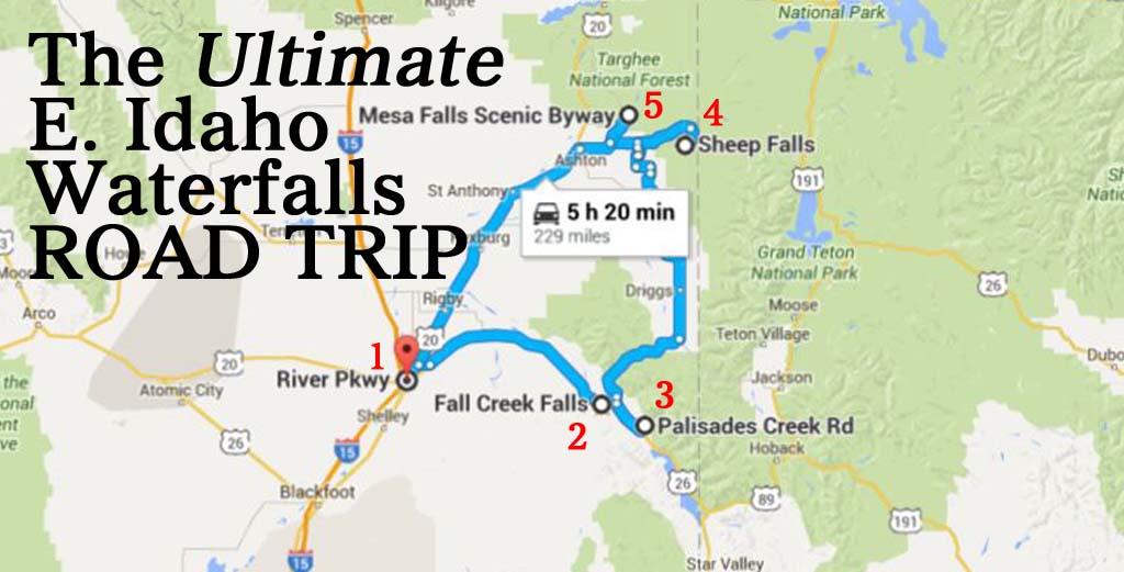 The Ultimate Eastern Idaho Waterfalls Road Trip