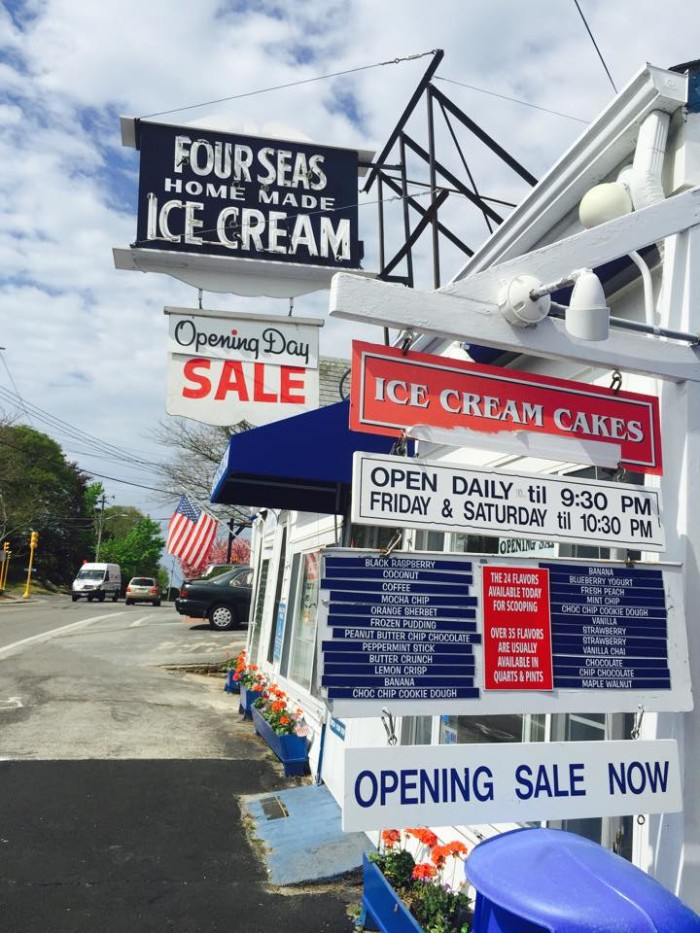 7. Four Seas Ice Cream, Centervile
