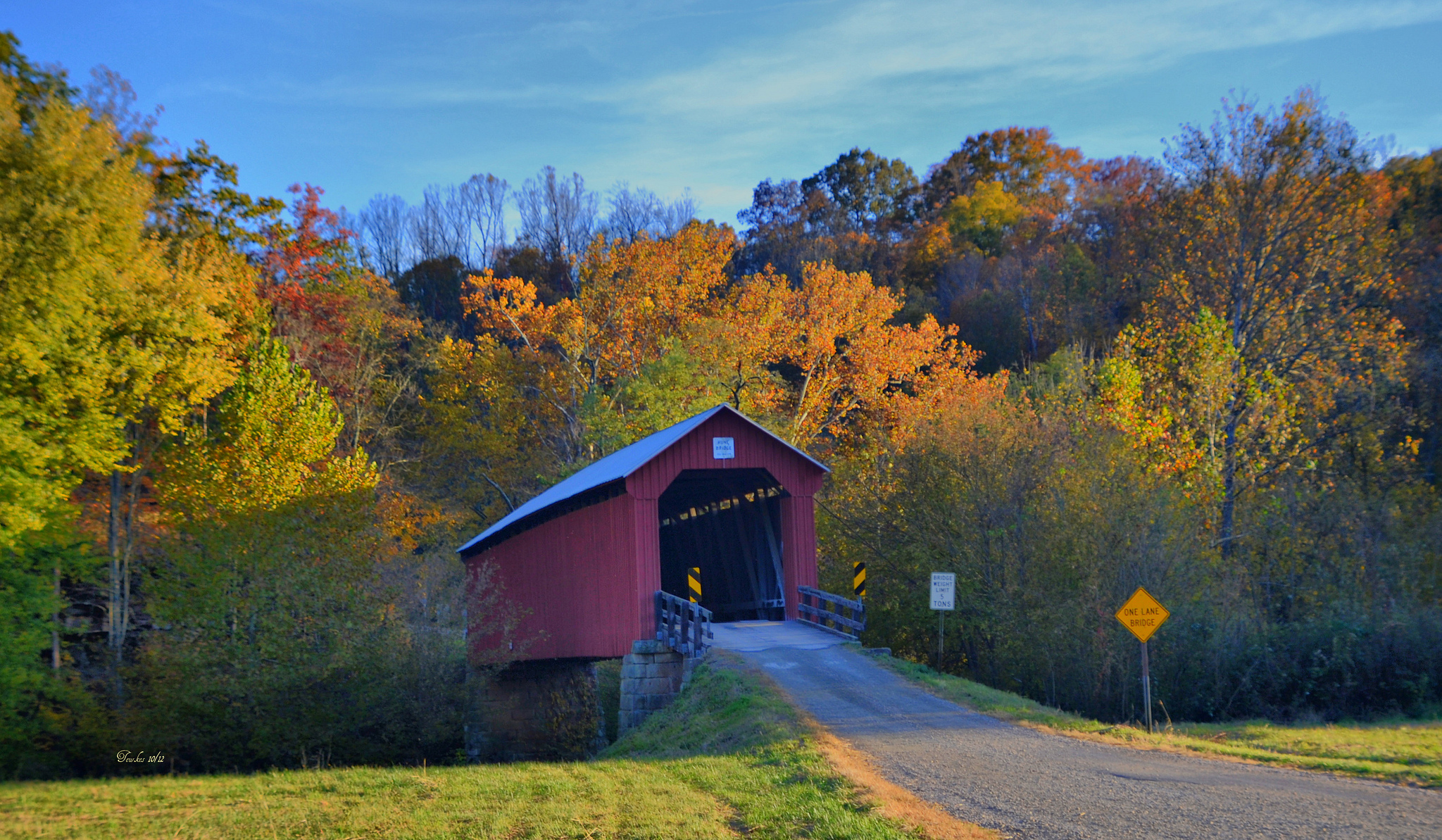 Vermont Fall Wallpaper 17 Most Beautiful Covered Bridges In Ohio