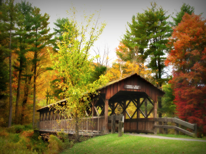These 11 Beautiful Covered Bridges In New York Will Remind