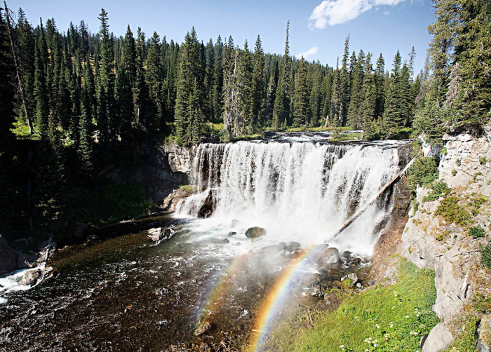 Mesa Falls Rexburg Idaho