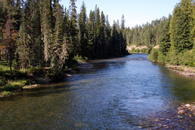 Upper Priest Lake Trail, Priest River