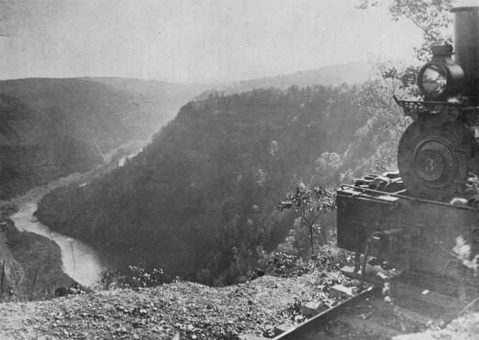 Logging New Gorge River